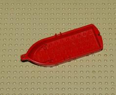 Lego Barque Rouge Pour Bateau 14 X 5 X 2 Ref 2551 - Lego Technic