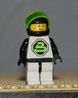 Lego Personnage Space Blacktron 2 Ref Sp002 - Lego Technic