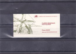 PORTUGAL  / AZORES FDC  BOOKLET FLOWERS (1981) - Booklets