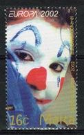 Malta 2002 Set Of Stamps To Celebrate Europa Circus. - Malta