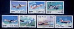 Vietnam Viet Nam MNH Perf Stamps 1992 : Modern Aircraft / Concorde / Airbus A-320 / Boeing (Ms637) - Vietnam