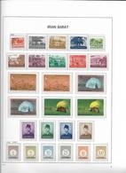 1963-70 MNH Irian Barat Complete 3 Scans - Indonesia