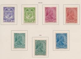 LIECHTENSTEIN 1917-18:   Série Complète Neuve *,   TTB - Liechtenstein