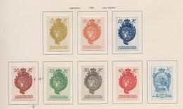 LIECHTENSTEIN 1920:   Série Complète ND Neuve *,  Avec Une Belle Variété Pour Le 20 H,   TTB - Liechtenstein