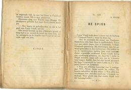 A. Hans Kinderbibliotheek Nr. 410 De Spion ( Geen Kaft Meer ) - Books, Magazines, Comics