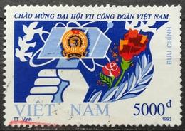 Vietnam 1993 Congress Of Vietnamese Trade Union - Vietnam