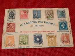 """FANTAISIES  -  """" Le Langage Des Timbres De L'Europe """" - Fantaisies"""