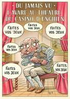 Illustrateurs - Illustrateur Bernard Veyri - Enghien Les Bains - L'avare Au Théatre Du Casino - Autographe - Signature - Veyri, Bernard