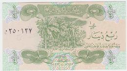 Iraq P 77 - 1/4 Dinar 1993 - UNC - Iraq