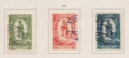 LIECHTENSTEIN 1920:   Série Complète Dentelée Oblitérée   TTB - Collections