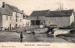 "CPA   78   BEYNES---MOULIN DE FLEUBERT---"" PECHEUR "" - Beynes"