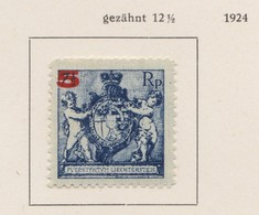 LIECHTENSTEIN 1921:   Timbre Neuf*,    TTB - Liechtenstein