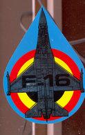 Autocollant   F16 - Aviation