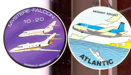 Autocollants Aviation Dassault - Autocollants