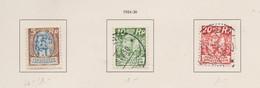 LIECHTENSTEIN 1921:   1 Timbre Neuf* Et 2 Oblitérés,    TTB - Liechtenstein