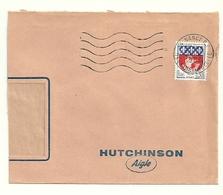 MEURTHE & MOSELLE - Dépt N° 54 = NANCY RP 1966 =  FLAMME Codée = SECAP Muette '5 Lignes Ondulées' - Postmark Collection (Covers)