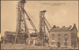 Marcinelle.  Charbonnage No5 Rue De Couillet. Charleroi. Postkaart Onverstuurd. - Charleroi