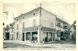 Mansle-Carrefour Des Routes Nationales N 10 Et 739  Garage Bouyer - Mansle
