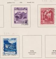 LIECHTENSTEIN 1930:   3 Timbres Oblitérés,    TTB - Liechtenstein