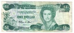 Bahamas 1 Dollar 1974/1984 Pick 43A Replacement Z - Bahamas