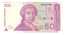 Croatia 500 Dinara 1991 UNC - Croatia