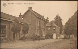Herzele. Tramstatie - Station Du Tram. Postkaart Onverstuurd. - Herzele