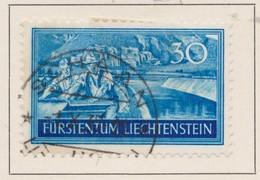 LIECHTENSTEIN 1937:   Timbre Oblitéré,    TTB - Liechtenstein