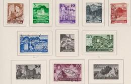 LIECHTENSTEIN 1937-38:   Timbres Neufs* Ou Oblitérés,    TTB - Liechtenstein