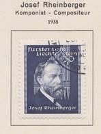LIECHTENSTEIN 1938:   Timbre Oblitéré,    TTB - Collections
