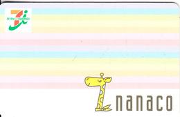 JAPAN - 7 Eleven, Nanaco Recharge Cash Card, Used - Geldkarten (Ablauf Min. 10 Jahre)