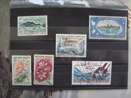 SPM/Saint Pierre Et Miquelon Lot Oblitérés N°362,363, 424, 414, 439, 546 - Cote Y&T 21,30€ - Collections, Lots & Séries