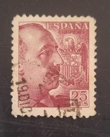 Type Franco Avec Signature Sanchez Toda N° 665 - 1931-50 Oblitérés