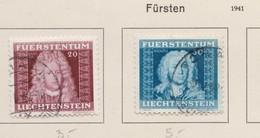 LIECHTENSTEIN 1941:   Timbres Oblitérés,    TTB - Collections