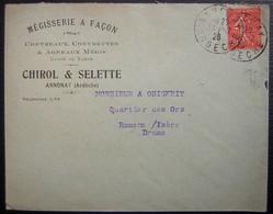 Annonay (Ardèche) 1926 Mégisserie à Façon Chirol & Selette Chevreaux Chevrettes Et Agneaux Mégis Glacé Ou Suède - 1921-1960: Période Moderne