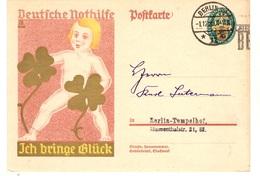 "Allemagne/Reich Bel Entier Postal ""Nothilfe"" De 1928 Oblitéré. B/TB. A Saisir! - Deutschland"