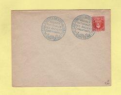 23e Congres National Des Anciens Combattants -  Clichy Sur Seine - 5 Juil 1946 - Marcophilie (Lettres)
