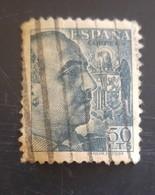Type Franco Avec Signature Sanchez Toda N° 669 - 1931-50 Afgestempeld