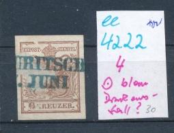 Österreich Nr.4   O (ee4222  ) Siehe Scan.... - 1850-1918 Empire
