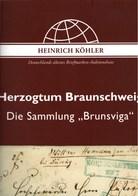 ! Sonderkatalog Sammlung Brunsviga, Braunschweig, 152 Lose, 52 Seiten, Auktionshaus Heinrich Köhler - Catalogues De Maisons De Vente
