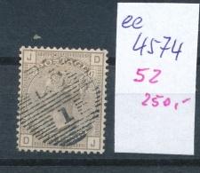 UK   Nr. 52   O- Stempel Beachten ... (ee4574 ) Siehe Scan.... - 1840-1901 (Victoria)