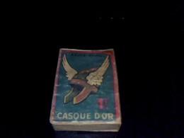 Boite D Allumettes  Ancienne  Vide Marque Casque D Or SEITA - Boites D'allumettes