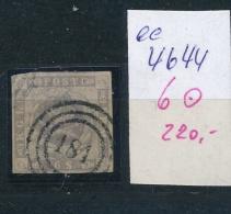 DK..   Nr. 6   O- Stempel Beachten ... (ee4644 ) Siehe Scan.... - 1851-63 (Frederik VII)