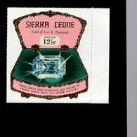 632128354 SIERRA LEONE 1970 ** MNH SCOTT 412 SEWA DAIDEM IN JEWELRY BOX DAIMONDS - Sierra Leone (1961-...)