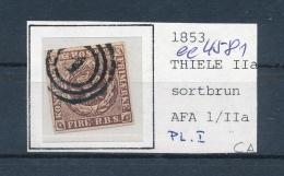 DK..   Nr. 1 O- Stempel Beachten ... (ee4581 ) Siehe Scan.... - 1851-63 (Frederik VII)