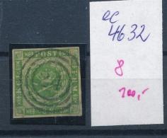 DK..   Nr. 8 O- Stempel Beachten ... (ee4632 ) Siehe Scan.... - Used Stamps