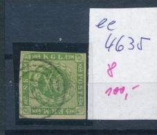 DK..   Nr. 8 O- Stempel Beachten ... (ee4635 ) Siehe Scan.... - 1851-63 (Frederik VII)