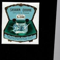 632129569 SIERRA LEONE 1970 ** MNH SCOTT 414 SEWA DAIDEM IN JEWELRY BOX DAIMONDS - Sierra Leone (1961-...)