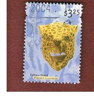 ARGENTINA - SG 2767  - 2000 ARGENTINE CULTURE: CERIMONIAL TIGER MASK     -    USED ° - Argentina