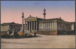 Die Nationale Und Kapodistrias-Universität Athen, C.1905-10 - Glueckstadt & Muenden AK - Greece