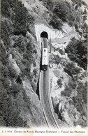 Cpa - Chemin De Fer De Martigny Châtelard - Tunnel Des Charbons - - Suisse